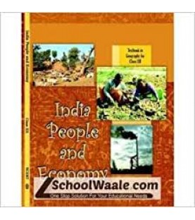 India People and Economy English Book for class 12 Published by NCERT of UPMSP