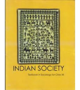 Indian Society - Sociology English Book for class 12 Published by NCERT of UPMSP