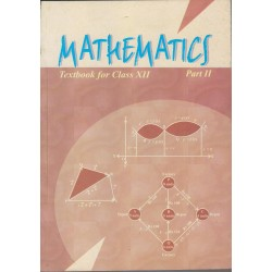 Mathematics Part II English Book for class 12 Published by