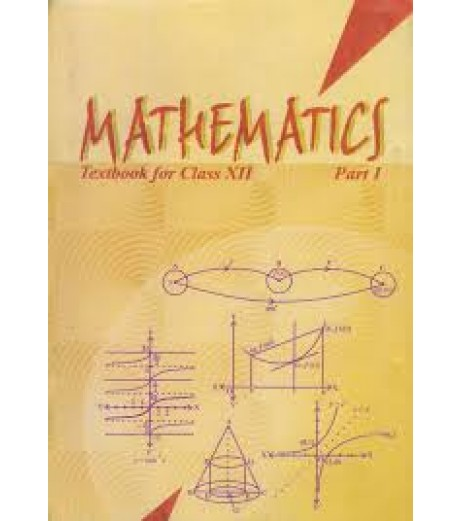 Mathematics Part I English Book for class 12 Published by NCERT of UPMSP
