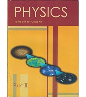 Physics II English Book for class 12 Published by NCERT of UPMSP