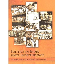 Politics in India since Independence english Book for class