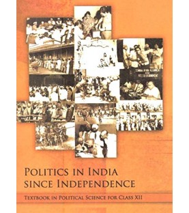 Politics in India since Independence english Book for class 12 Published by NCERT of UPMSP