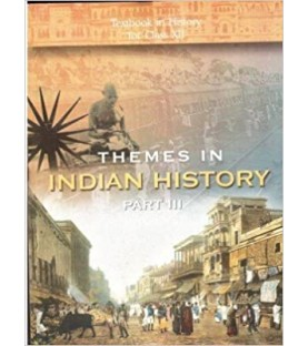 Thymes In Indian History Part III English Book for class 12 Published by NCERT of UPMSP