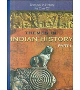 Thymes In Indian History Part I English Book for class 12 Published by NCERT of UPMSP