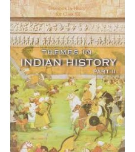 Thymes In Indian History Part II English Book for class 12 Published by NCERT of UPMSP