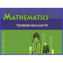 Mathematics English book for class 7 Published by NCERT of