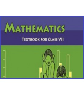 Mathematics English book for class 7 Published by NCERT of UPMSP