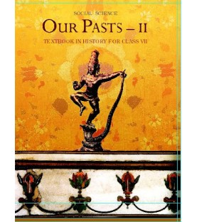 Our Past 2 History English book for class 7 Published by NCERT of  UPMSP