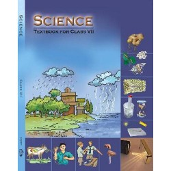 Science English Book for class 7 Published by NCERT of UPMSP
