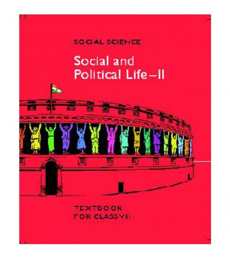 Social and Political Life 2 English Book for class 7 Published by NCERT of UPMSP