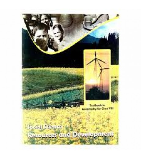 Resourse and Development - Geogrophy english book for class 8 Published by NCERT of UPMSP