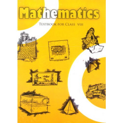 Mathematics English Book for class 8 Published by NCERT of