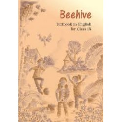 Beehive - English Text book for class 9 Published by NCERT of UPMSP
