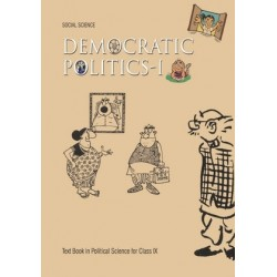 Democretic Politics english book for class 9 Published by