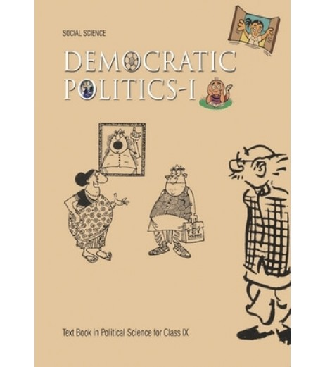 Democretic Politics english book for class 9 Published by NCERT of UPMSP