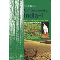 Contemprary India - Geogrophy english book for class 9