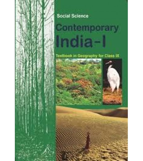 Contemprary India - Geogrophy english book for class 9 Published by NCERT of UPMSP