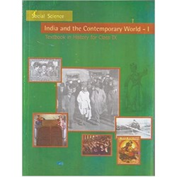 India & Comtemprary World - History english book for class