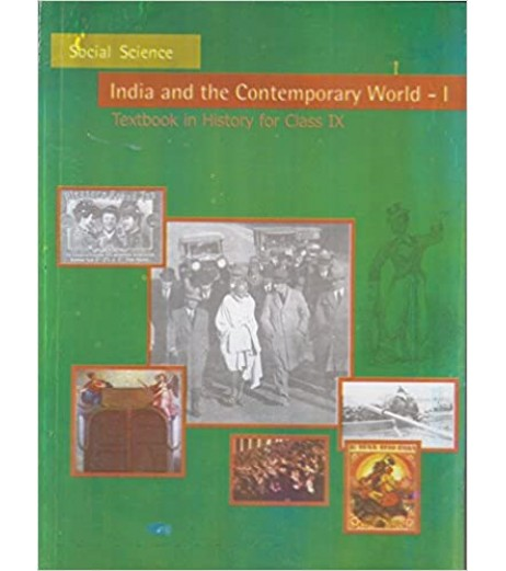 India and Comtemprary World - History english book for class 9 Published by NCERT of UPMSP