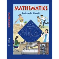 Mathematics English Book for class 9 Published by NCERT of