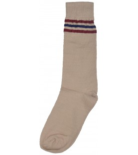 DAV School Uniform Beige Socks for (Boys & Girls)