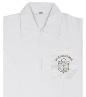 DPS Nerul School Uniform Frock / Blouse for Girls