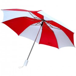 Five Star Red and White Umbrella for Men and Women