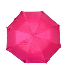 Polyester Pink Folding Umbrella