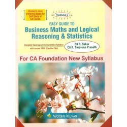 Padhuka Easy Guide To Business Maths and Logical Reasoning