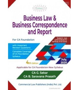 Padhuka Business Law and Business Correspondence And Reporting for CA Foundation