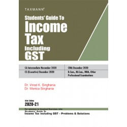 Taxman's Students Guide To Income Tax including GST