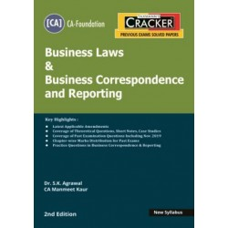 Taxmann Cracker CA foundation Business Laws and Business