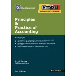 Taxmann Cracker CA foundation Principles and Practice of