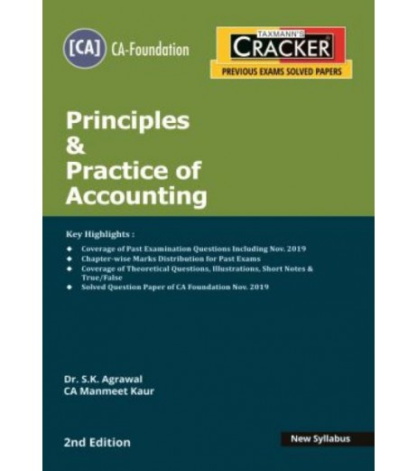 Taxmann Cracker CA foundation Principles and Practice of Accounting