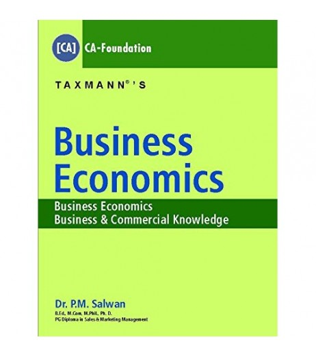 Taxmann's Business Economics for CA-CPT