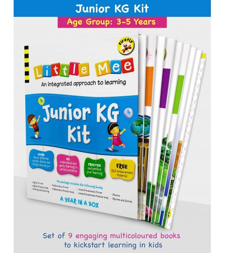 Little Mee Junior KG Kit   LKG Books   3 to 5 Years Old