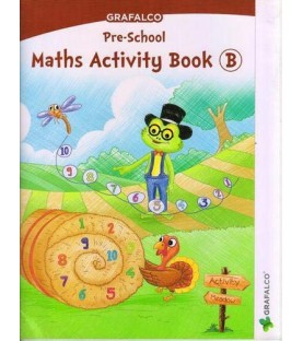 Grafelco PreSchool Maths Activity book