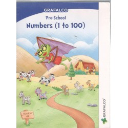 Grafelco PreSchool Number 1 to 100 Letters book