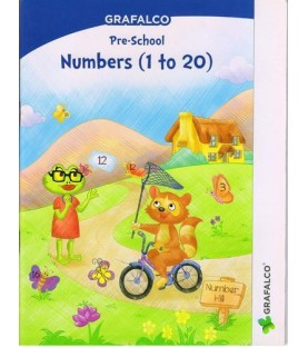 Grafelco PreSchool Number 1 to 20 Letters book