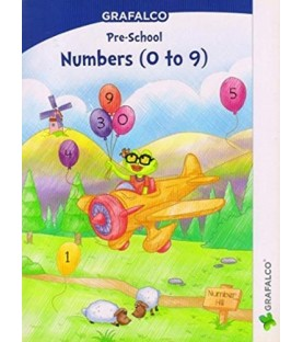 Grafelco PreSchool Number 1 to 9 Letters book