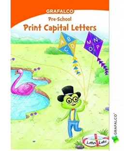 Grafelco PreSchool Print Capital Letters book