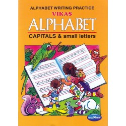 Vikas Alphabet Capital and Small Letter Book