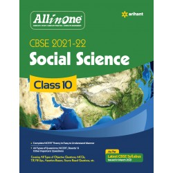 CBSE All in One  Social Science Class 10 2021-22