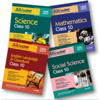 All In One Class 10 Set of 4 Books English,SS,Sci.,Math for