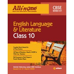 CBSE All in One English Language And Literature Class 10