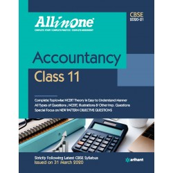 CBSE All in One Accountancy Class 11 2020-21