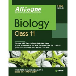 CBSE All in One Biology Class 11 2020-21