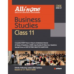 CBSE All in One Business Studies Class 11 2020-21
