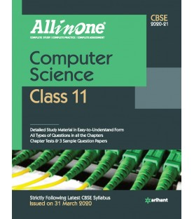 CBSE All in One Computer Science Class 11 2020-21